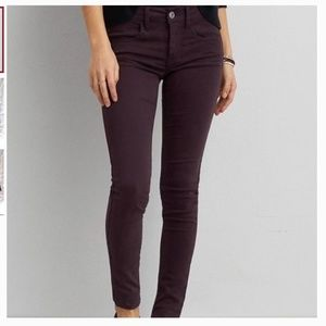 American Eagle Outfitters Purple Jegging Regular
